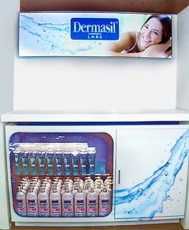 Dermasil Platinum Product Display
